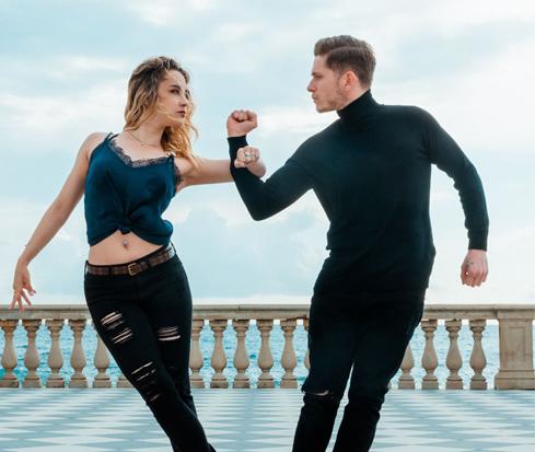 Thibault Ramirez & Nicole Clonch